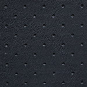 Morbern Allante Perforated Vinyl Black