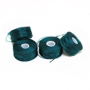 Bonded Polyester Bobbins B92 Style G Teal Blue DISCONTINUED
