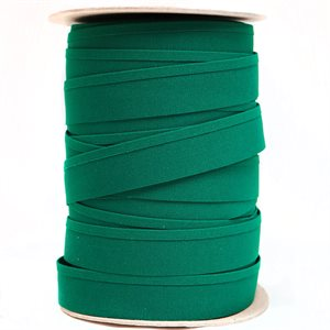 "Recacril Acrylic Canvas Binding 1 1/4"" One Side Folded Green"