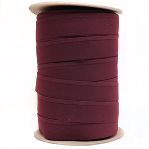 "Recacril Acrylic Canvas Binding 1 1/4"" One Side Folded Burgundy"
