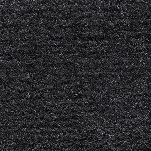 "El Dorado Cutpile Carpet 80"" Black Unlatexed"