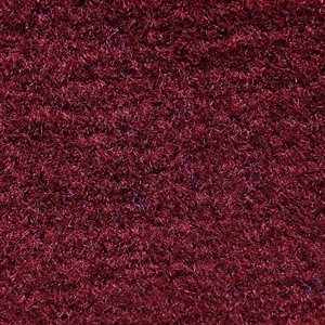 "El Dorado Cutpile Carpet 80"" Maroon Unlatexed"