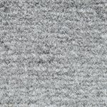 "El Dorado Cutpile Carpet 80"" Silver Latexed"