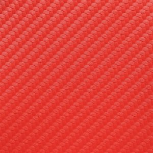Endurasoft Carbon Fiber Marine Vinyl Stop Light Red