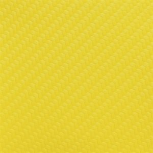 Endurasoft Carbon Fiber Marine Vinyl Caution Yellow