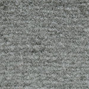 "El Dorado Cutpile Carpet 40"" Medium Grey Latexed"