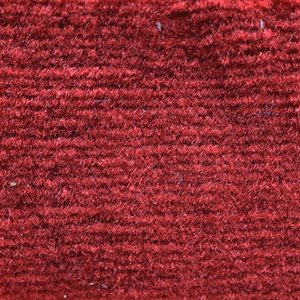 "El Dorado Cutpile Carpet 40"" Red Latexed"