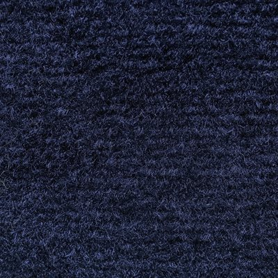 "El Dorado Cutpile Carpet 40"" Navy Blue Latexed"