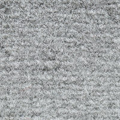 "El Dorado Cutpile Carpet 40"" Silver Latexed"