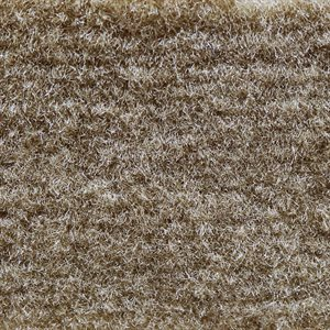 "El Dorado Cutpile Carpet 40"" Medium Beige Latexed"
