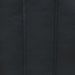 Seascape Quilted / Pleated Marine Vinyl Black